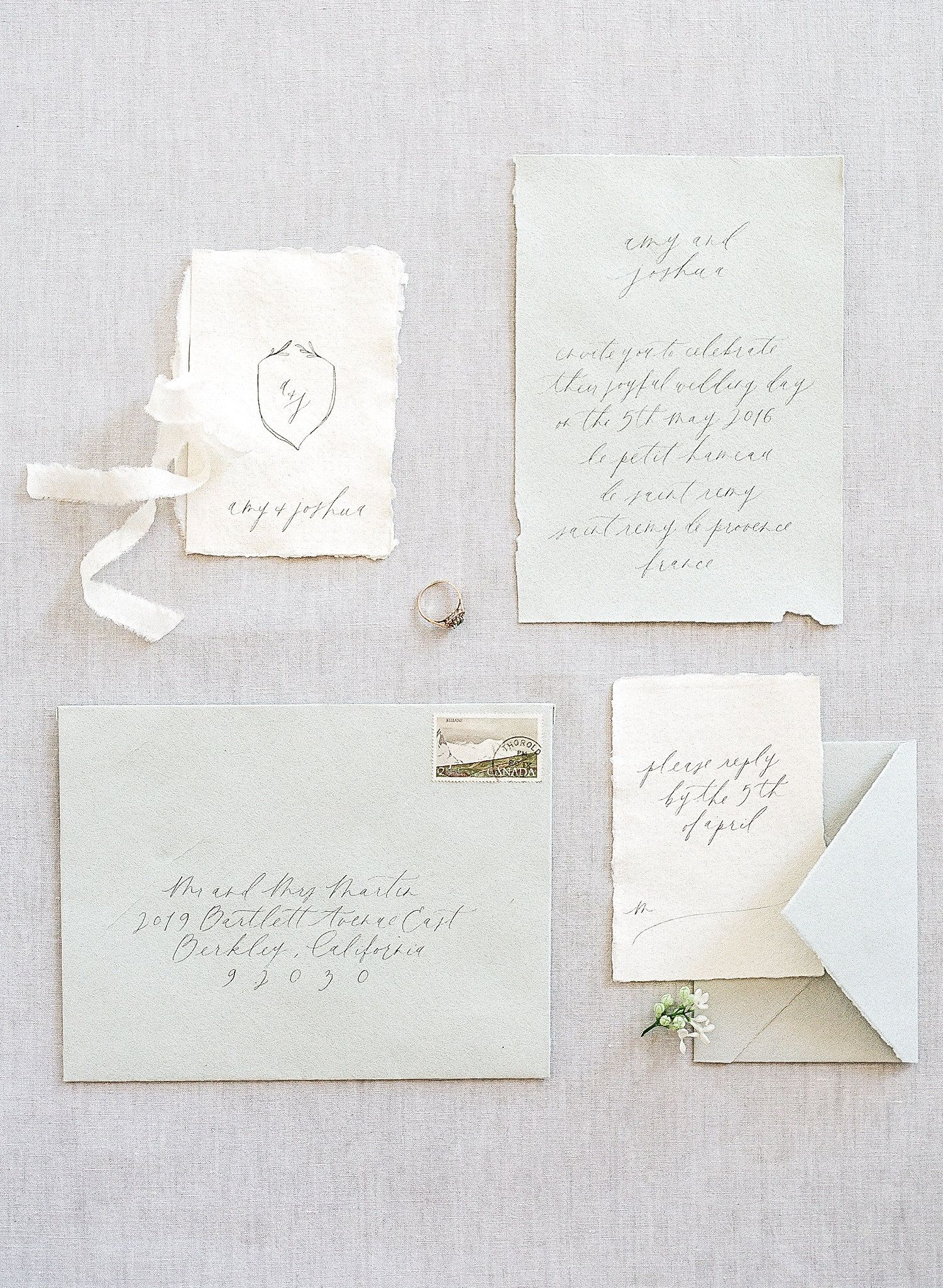Provence Wedding Inspiration with Olive Hues   Papier