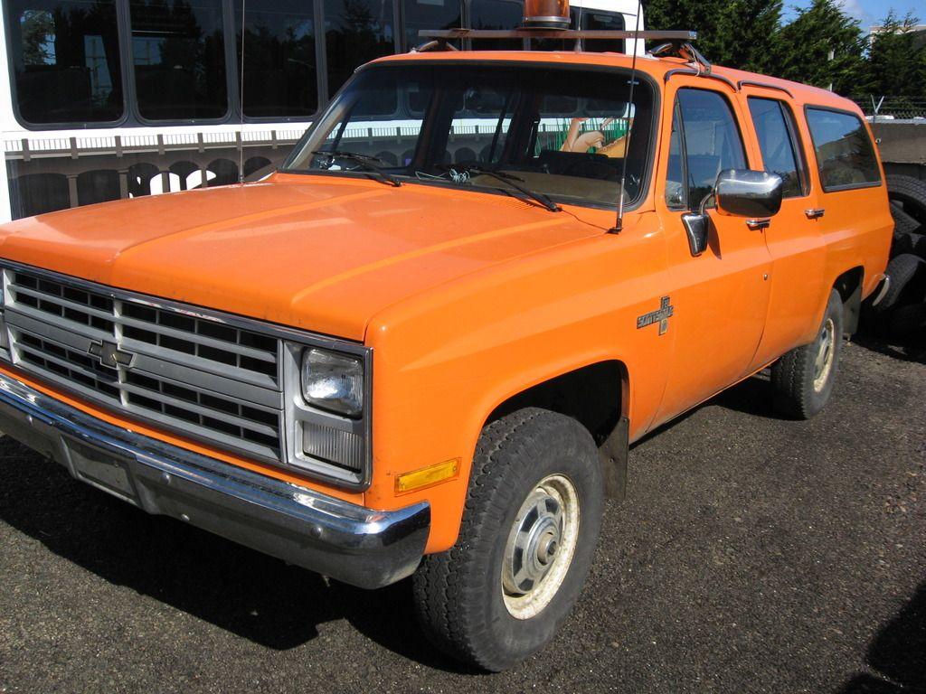 1988 3 4 Ton Chevrolet Suburban 4x4 Chevrolet Suburban Chevrolet 4x4