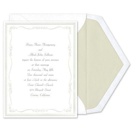 Delicate Flowers Invitations Birchcraft Wedding Invitations Flower Invitation Invitations