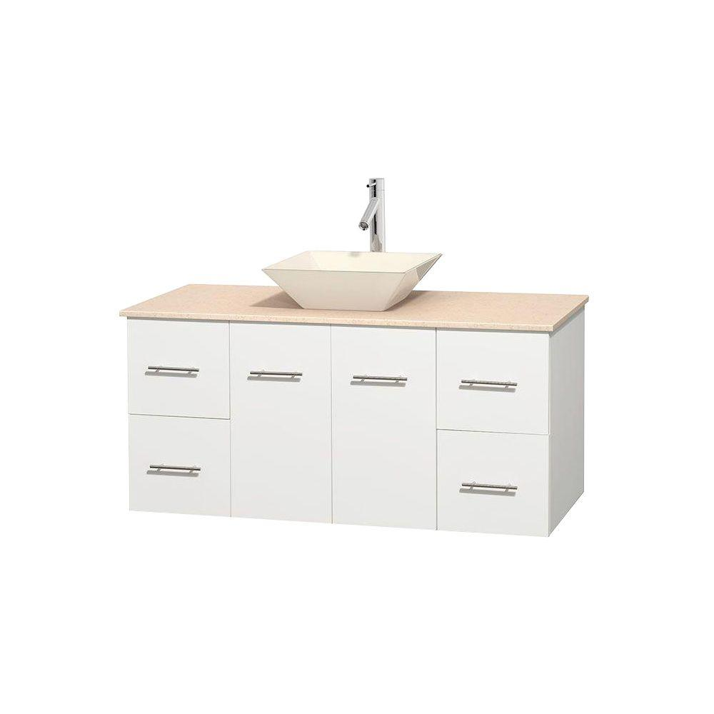 Wyndham Collection Centra 48 in. Vanity in