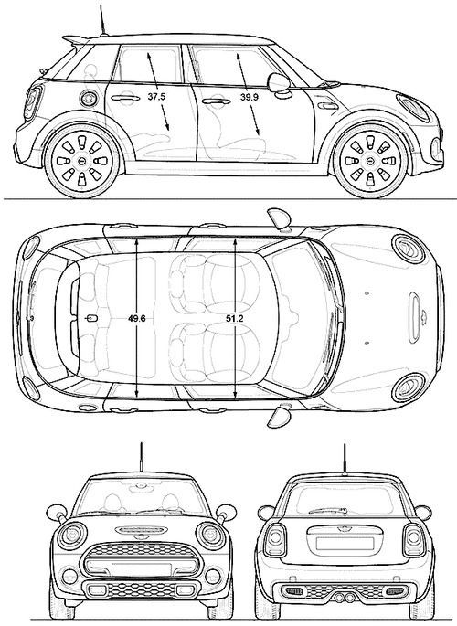 Awesome mini cooper 2017 blueprints cars mini mini cooper 4 awesome mini cooper 2017 blueprints cars mini mini cooper 4 door malvernweather Images