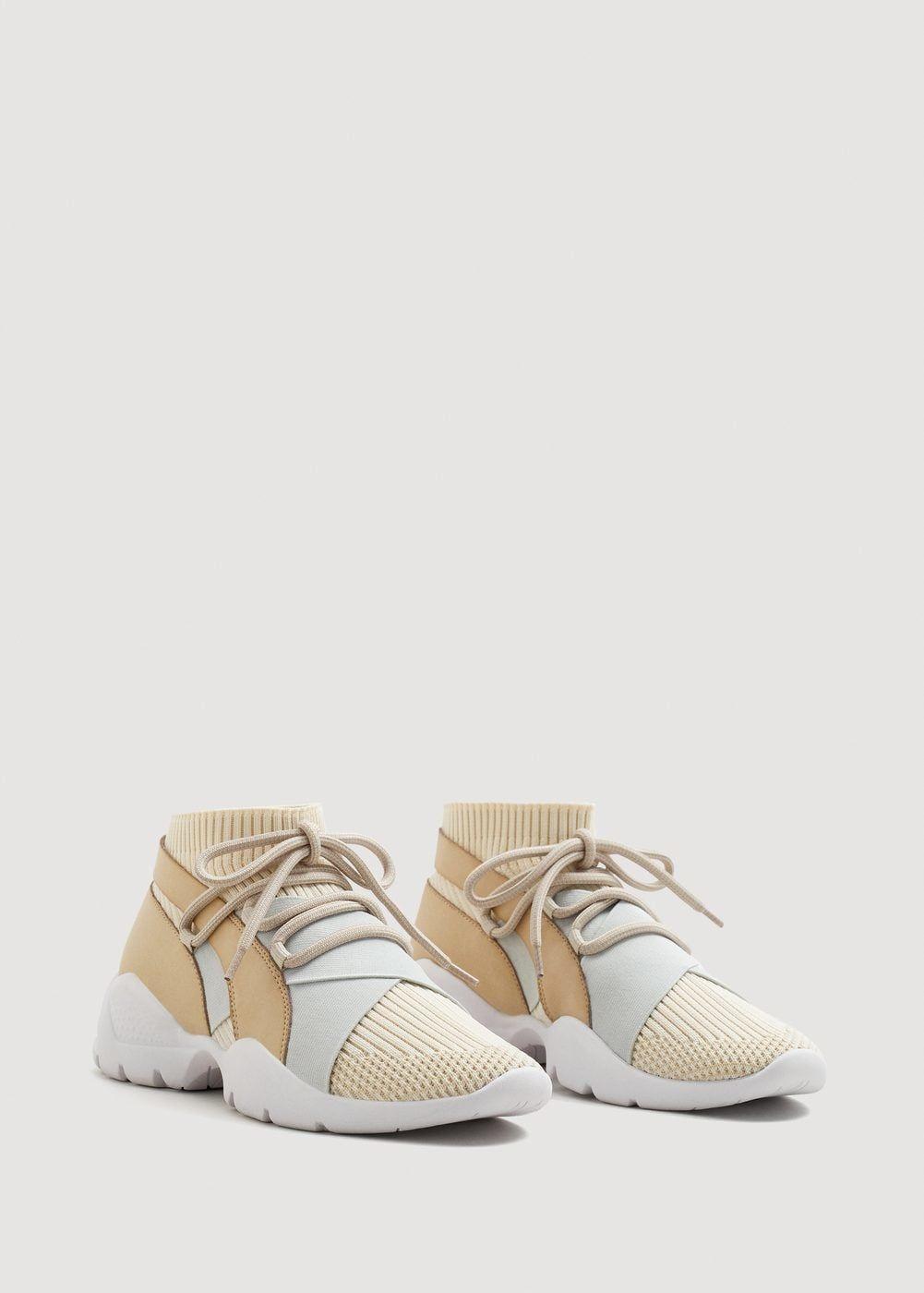 30039ce25f817 Deportivas calcetín suela - Zapatos de Mujer