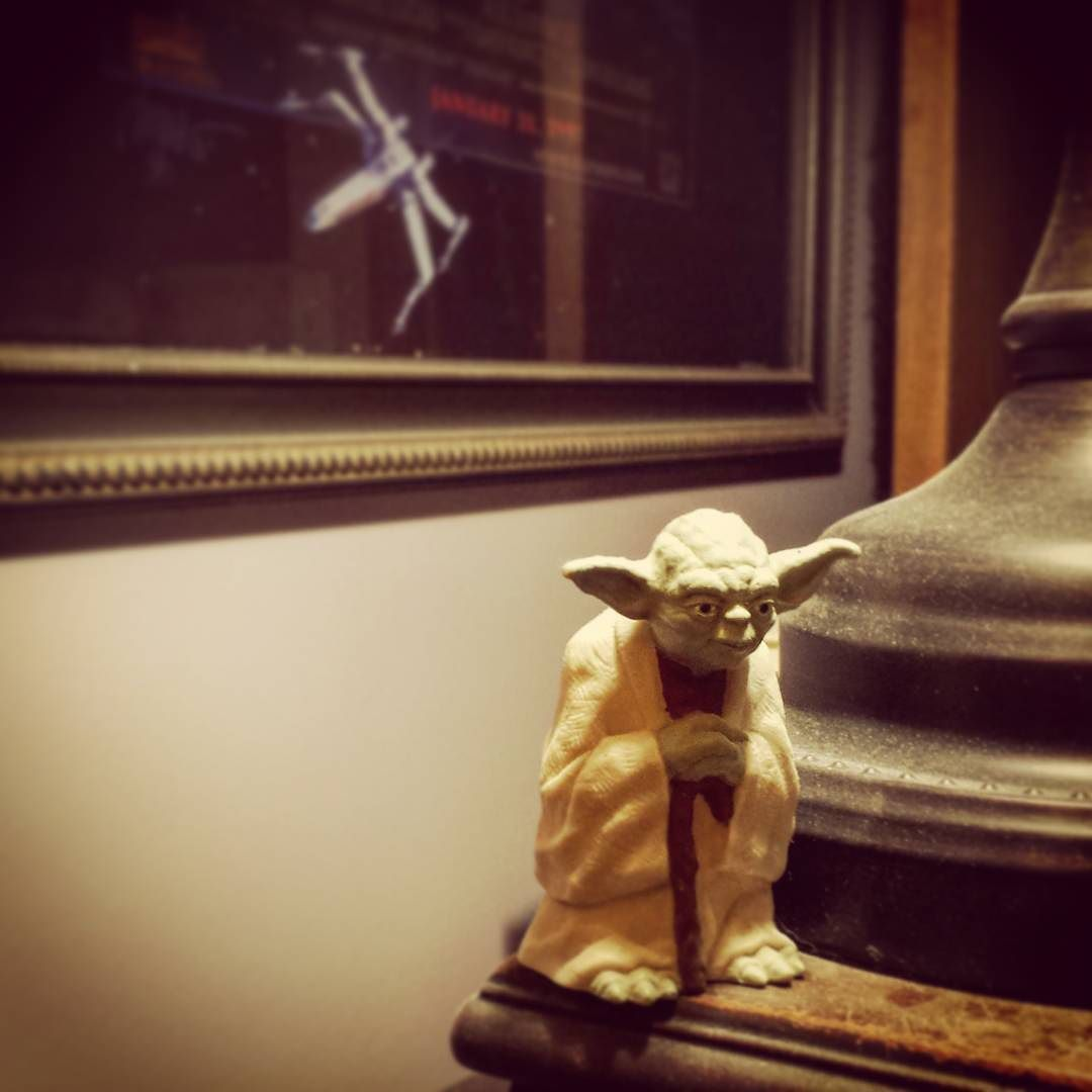 """""""Write! Or write not. But if not you write a loser you are!"""" #amwriting #yoda"""