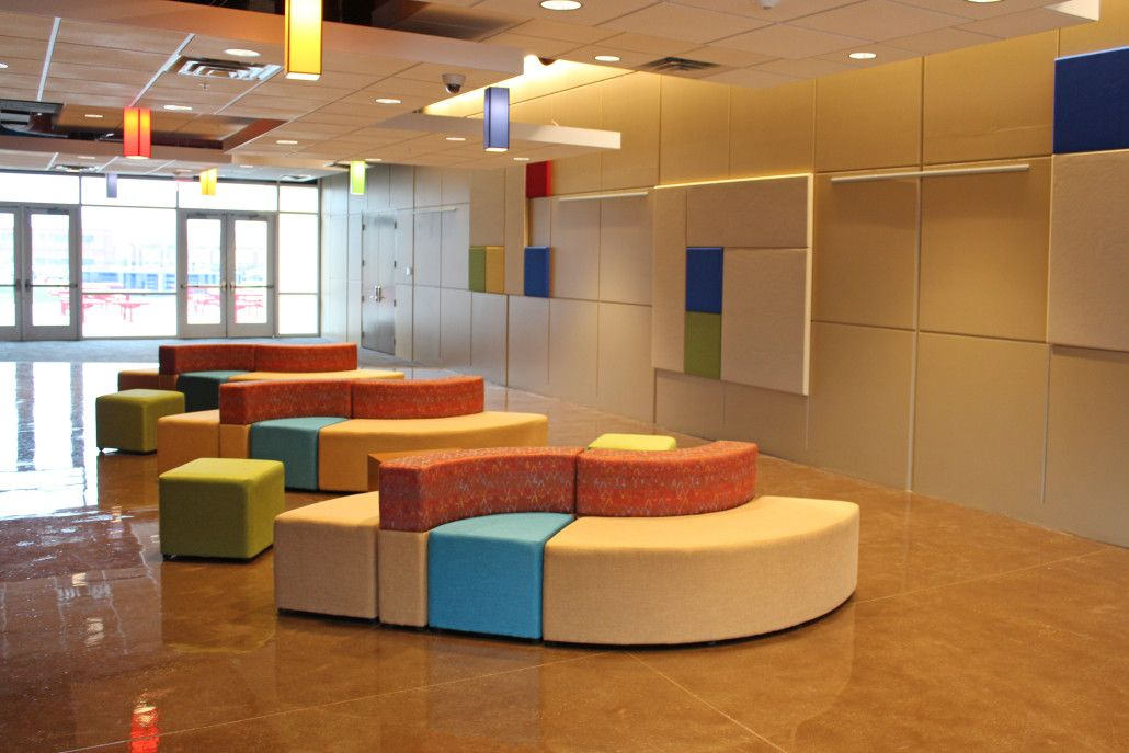 Success Academy South Bend   Prefunction Flexible Thonet Furniture Styling  #1 : Educational Facility Design