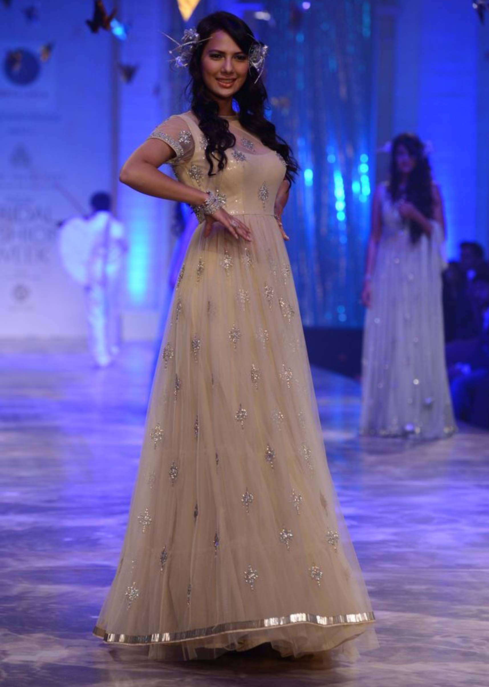 Models walking the runways for designer Neeta Lulla at Indian ...