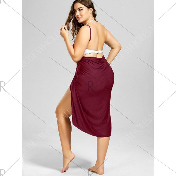 Plus Size Beach Cover Up Wrap Dress Beach Covers Wrap Dresses And