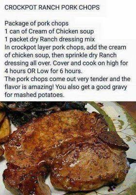 Thai Chicken Curry Healthy Food Mom Recipe Crockpot Recipes Slow Cooker Ranch Pork Chops Crock Pot Recipes