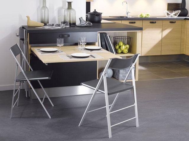 petite cuisine 12 astuces gain de place pinterest gain de place place et la cuisine. Black Bedroom Furniture Sets. Home Design Ideas
