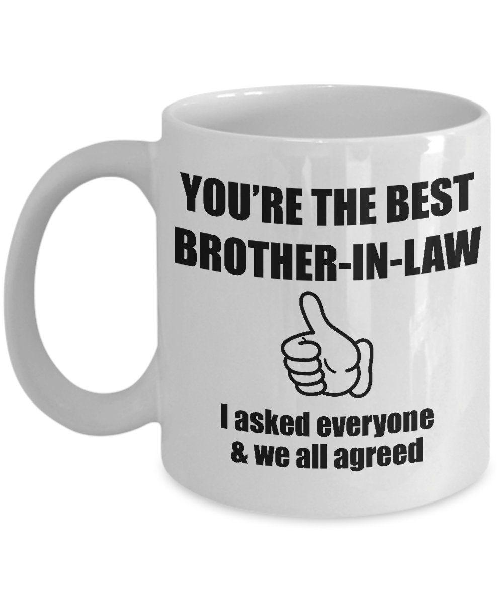 Brotherinlaw mug brotherinlaw gift gift for brother