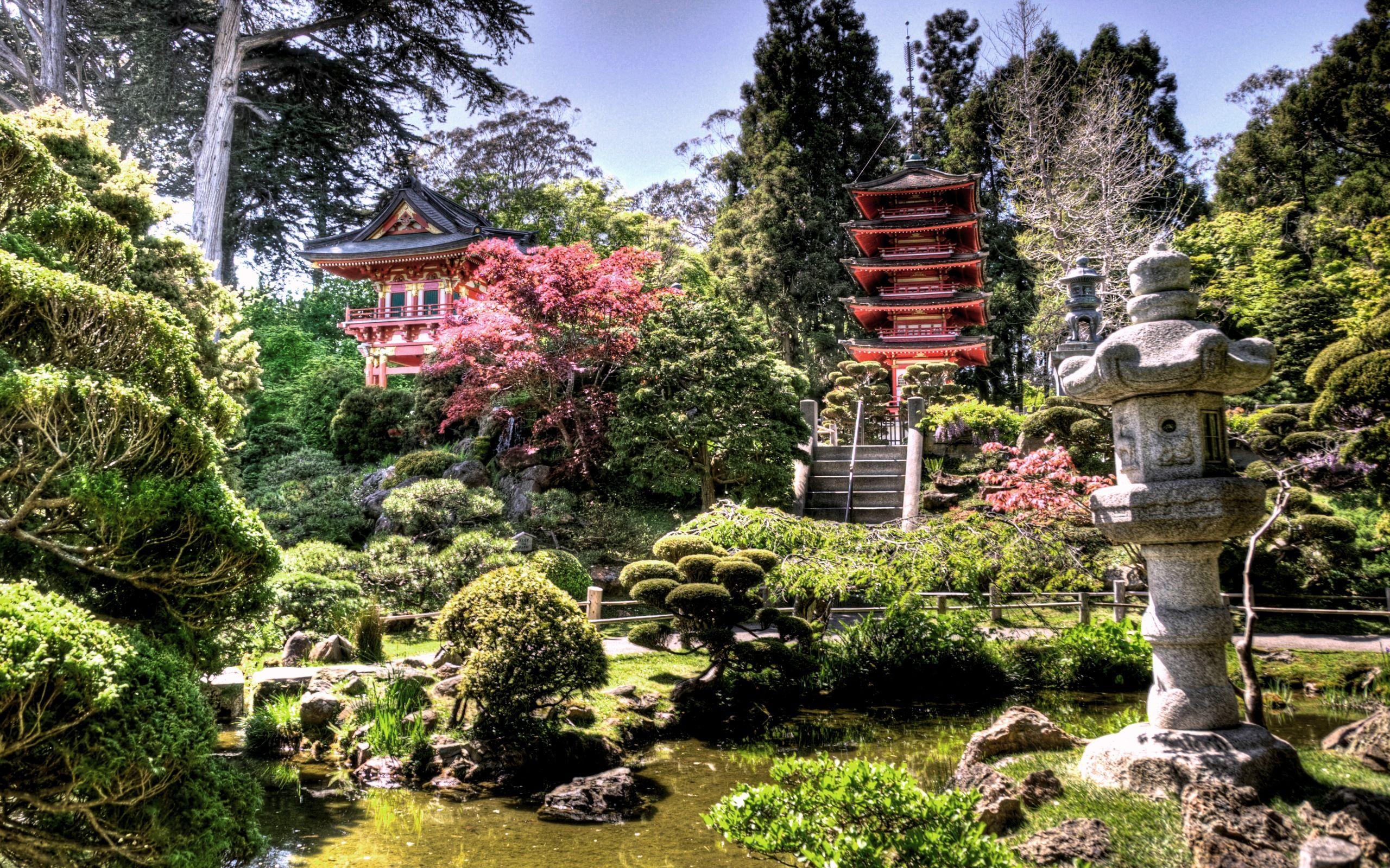 japanese tea garden beauty places