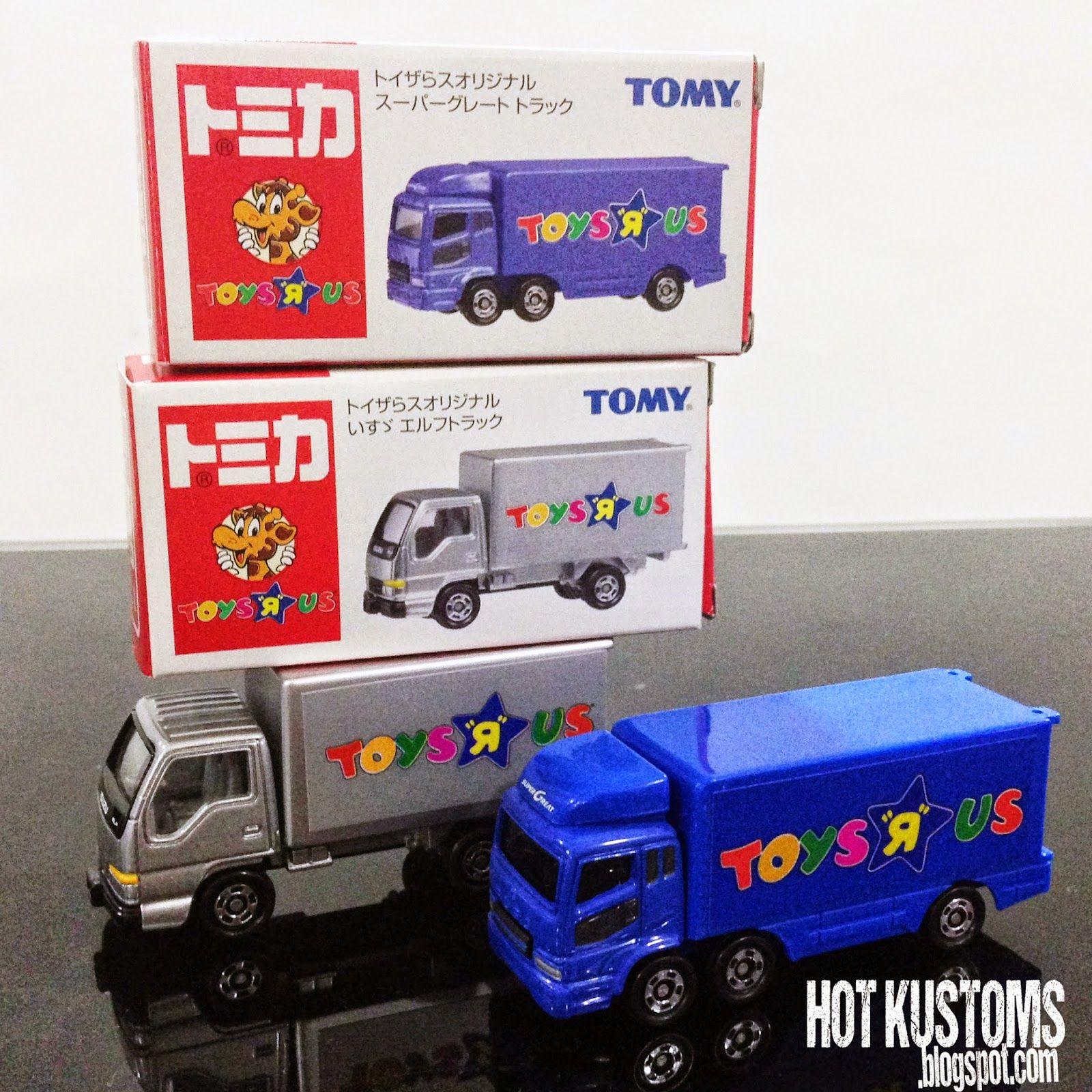 Tomy Tomica Mitsubishi Fuso And Isuzu Elf Toys R Us Trucks Hot Premium 18 Gto Twin Turbo