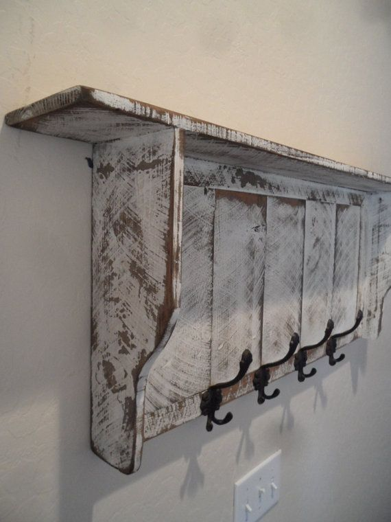 French Country Coat rack Cottage Chic coat by ...