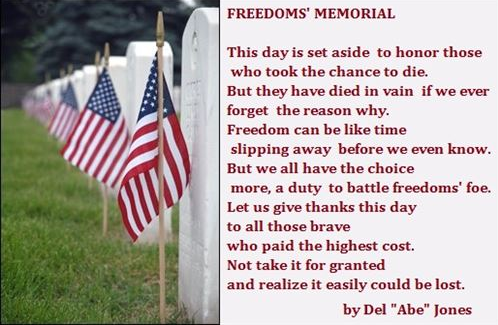 Happy Memorial Day Quotes, Sayings, Messages, Memorial Day 2016