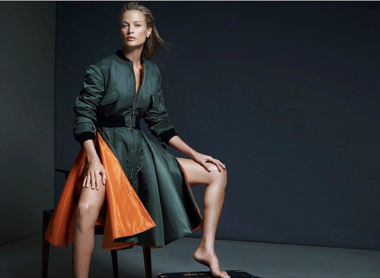 ru_glamour: Carolyn Murphy by Santiago&Mauricio for VAMP PREMIER ISSUE S/S 2014