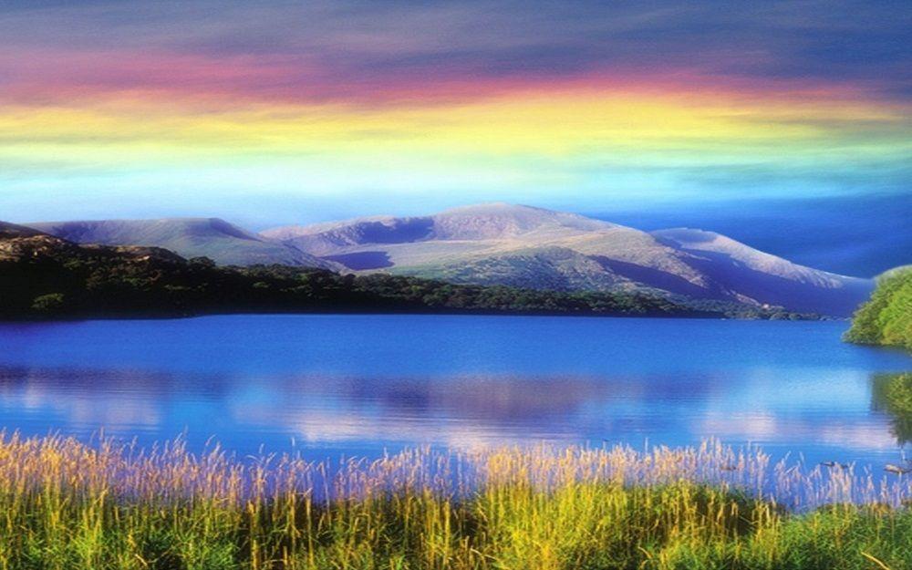 colorful inspiring landscapes
