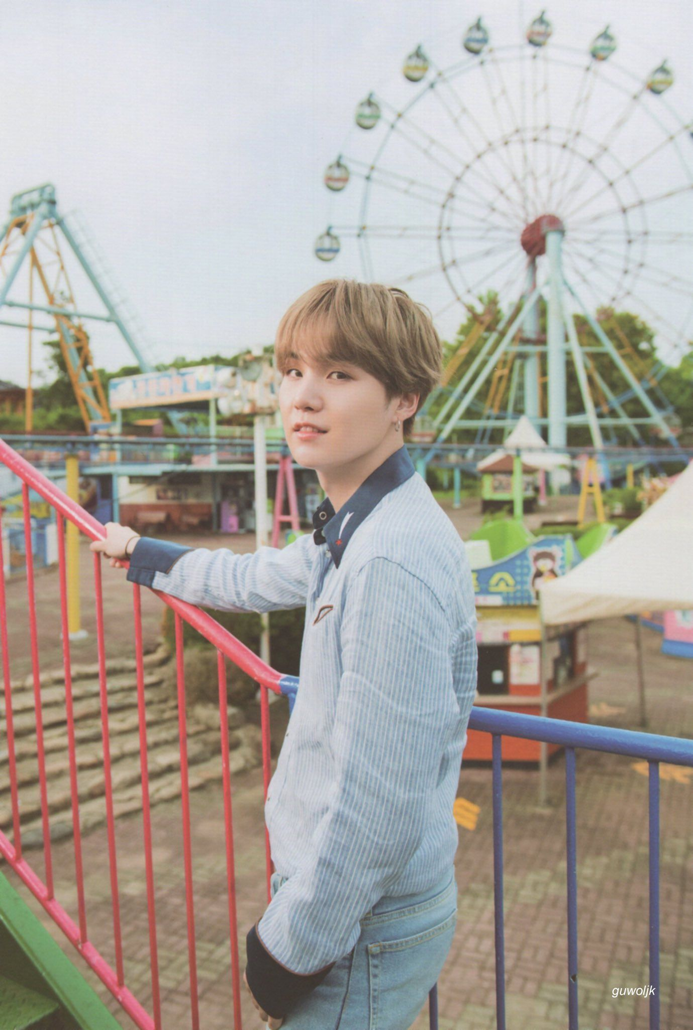 구월 (@guwoljk) #btssummerpackage2019 9: GJK on Twitter: (scan) summer package 2019 #윤기 #슈가…