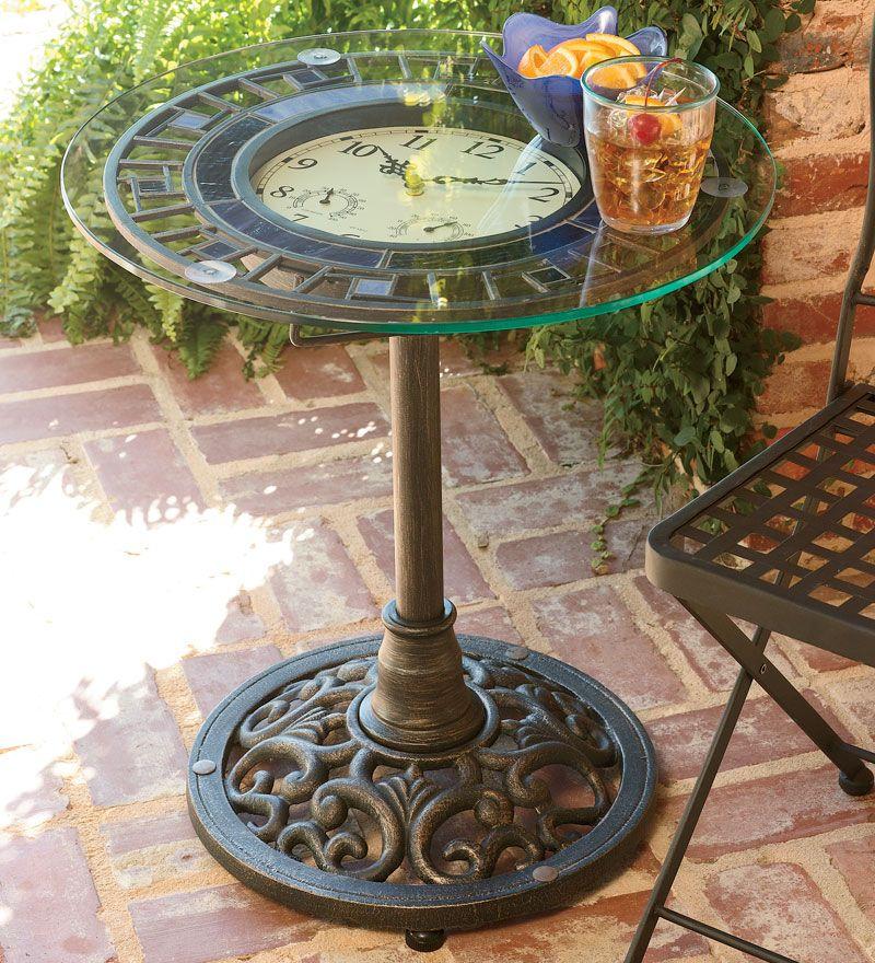 Great Little Table For The Garden Gardening Ideas