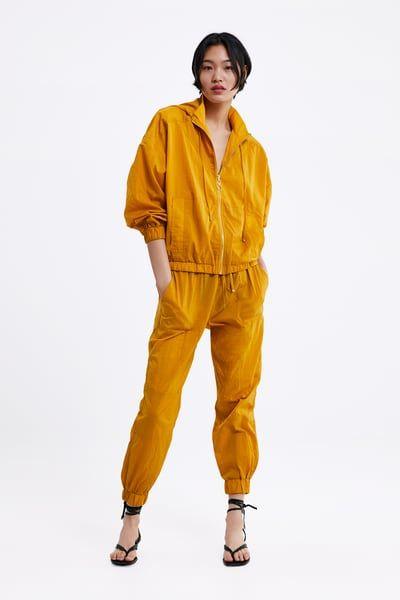 d8d872e097 ZARA - Female - Wrinkle look jacket - Mustard - Xs in 2019 ...