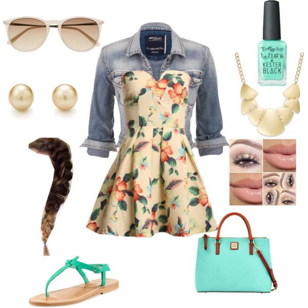 A fashion look from March 2015 featuring Silver Jeans Co. jackets, K. Jacques sandals and Dooney & Bourke handbags. Browse and shop related looks.