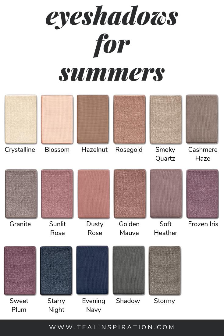 Makeup For Summers Soft Summer Makeup Soft Summer Color Palette Soft Summer Palette