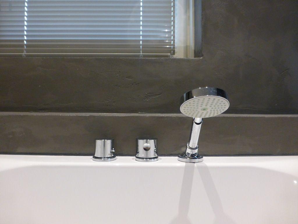 Badkamer Stuc Waterdicht : Mintgroen waterdicht stucwerk in badkamer stukadoorsbedrijf hdg