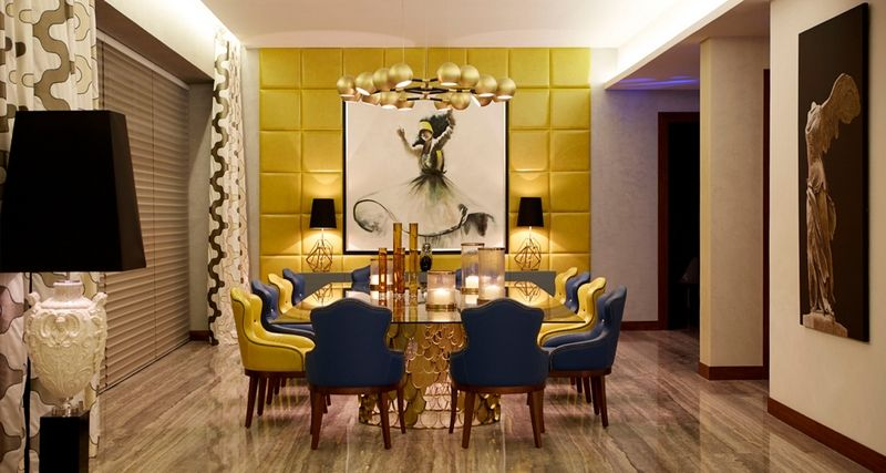 Best Design Projects To Inpire You With The Most Unique dining tables ➤ To see more news about the Best Design Projects in the world visit us at http://www.bestdesignprojects.com #homedecor #diningtable #diningroom @BestDesignProj @koket @bocadolobo @delightfulll @brabbu @essentialhomeeu @circudesign @mvalentinabath @luxxu @covethouse_