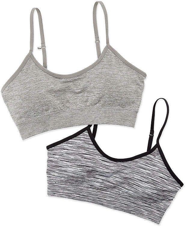 4764aaae911b Flirtitude 2-Pk. Seamless Bralettes | Products | Teen bras, Spandex ...