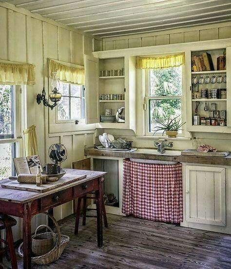 old style country kitchen kitchen love pinterest haus k chenm bel und shabby chic k che. Black Bedroom Furniture Sets. Home Design Ideas