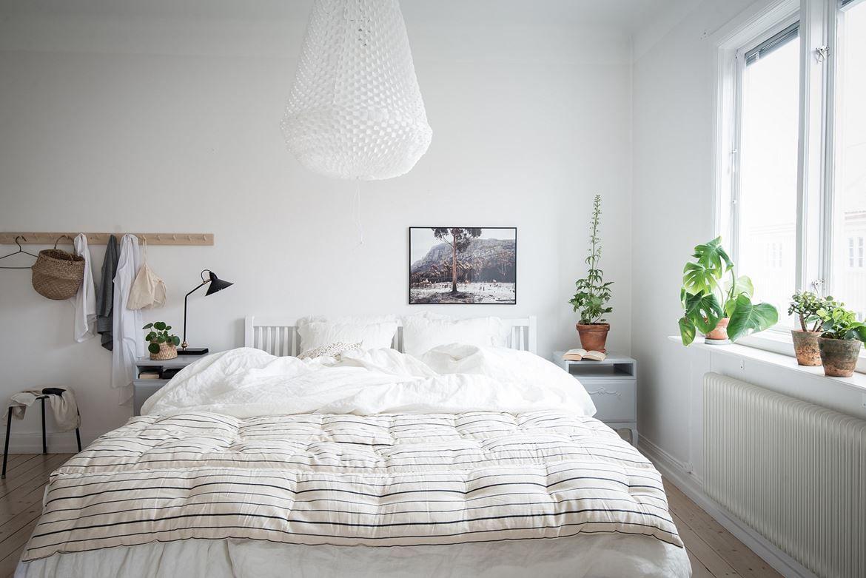 Atmosphère zen dans un appartement suédois Organizacion