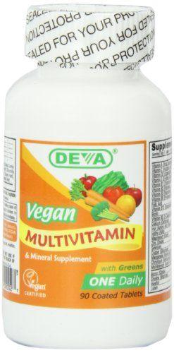 Amazon Com Deva Vegan Vitamins Daily Multivitamin Mineral Supplement 90 Tablets Pack Of 2 Health Vegan Vitamins Raw Food Recipes Multivitamin Mineral