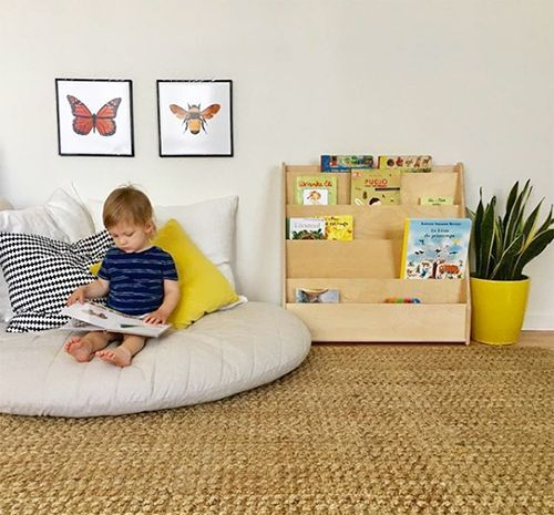Simple Reading Nooks for Toddlers and Kids images