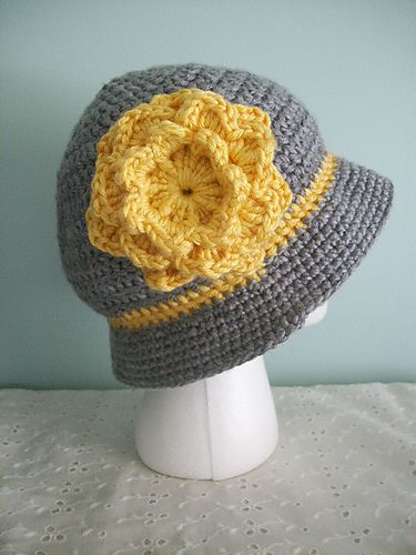 Ravelry: FLAPPER FLOWER pattern by J. G. Burdette | crochet patterns ...