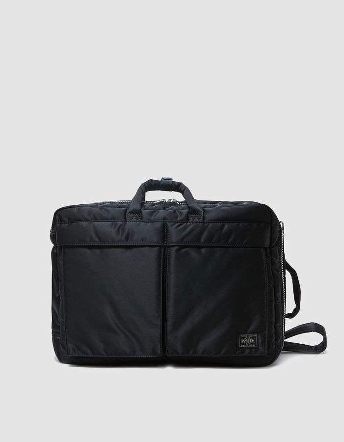 90bfd1898032 Porter-Yoshida   Co.   Tanker 3Way Brief Case in Black