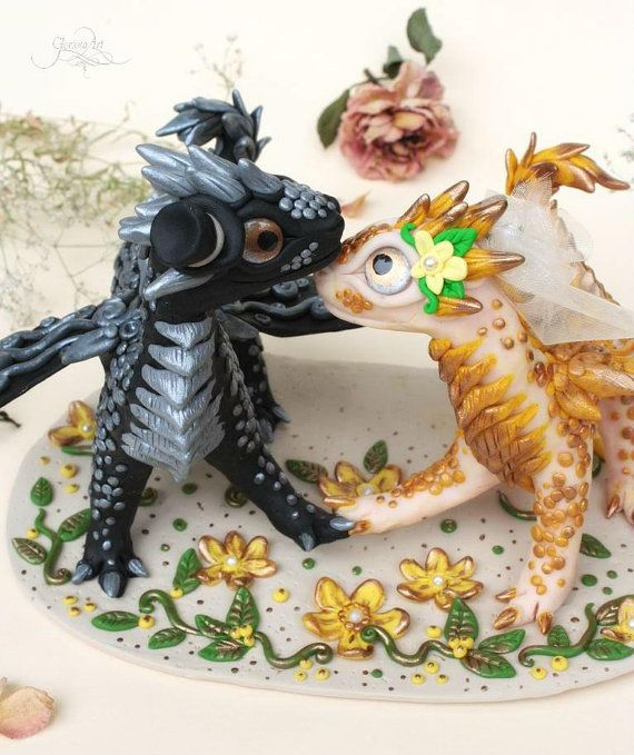 Your Place To Buy And Sell All Things Handmade Dragon Wedding Dragon Wedding Cake Wedding Cake Toppers