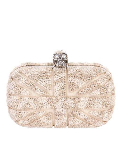 I have an unhealthy obsession with Alexander McQueen clutches.