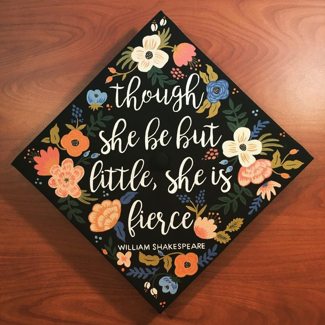 13 feminist graduation cap ideas for badass women graduation