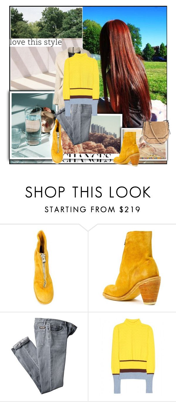 """""""New Beginnings"""" by sue-mes ❤ liked on Polyvore featuring Guidi, Mary Katrantzou and Elena Votsi"""
