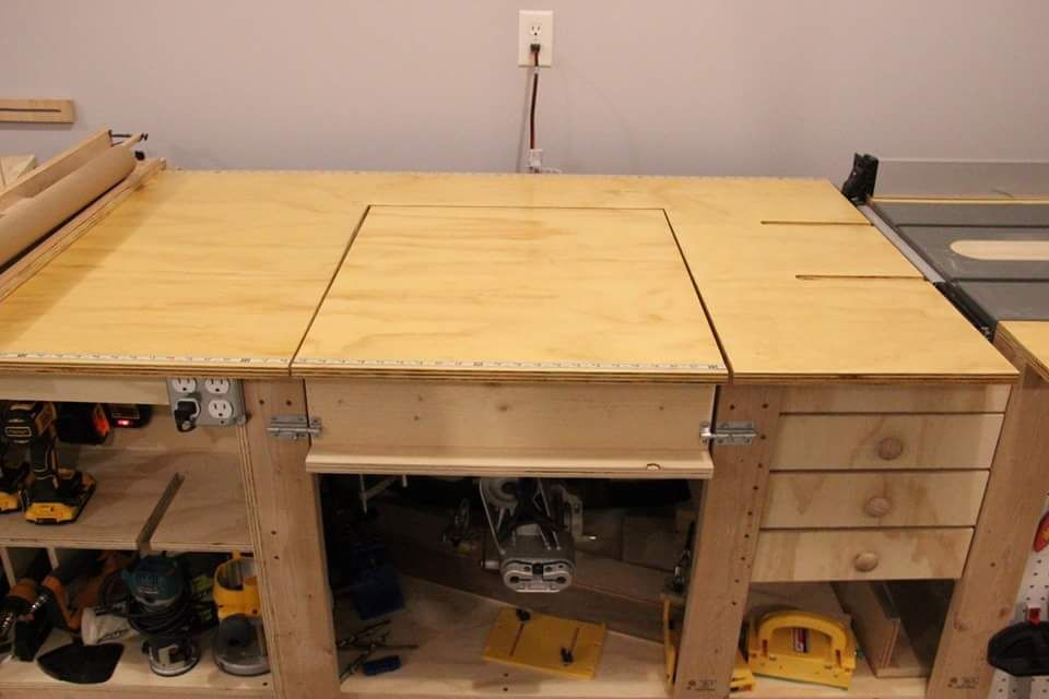 Ultimate Work Bench Ana White Workbench Workbench Plans Diy Table Saw Workbench