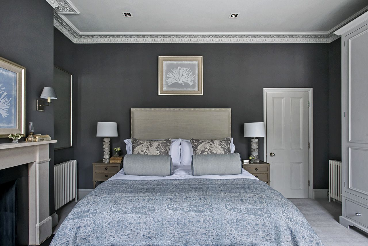 London Townhouse Master Bedroom. Sims Hilditch Interior ...