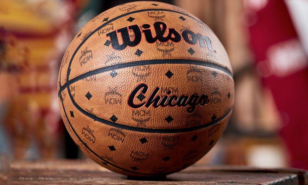 """3Point Luxury! MCM x Wilson NBA AllStar Weekend """"Chicago"""