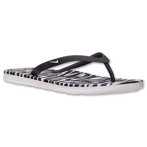 c7648180c28970 Women s Nike Solarsoft II Print Thong Sandals