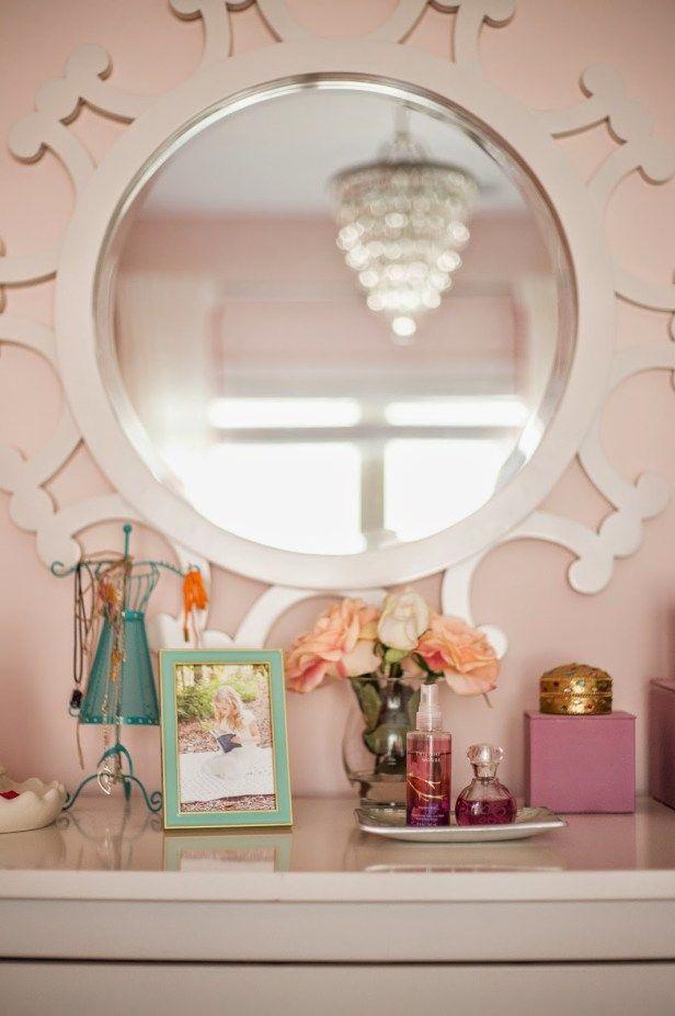 Tween Girl Bedroom : Pink + Coral | Casa jardim e Casas