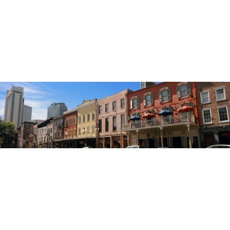 Bubba Gump Shrimp Company restaurant in a city Decatur Street French  Quarter New Orleans Louisiana USA Canvas Art - Panoramic Images (36 x 12) 87668b2191d