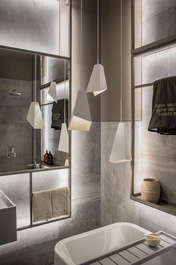 Una sala de baño diseñada por las arquitectas Melisa Herc y Carolina - diseos de baos