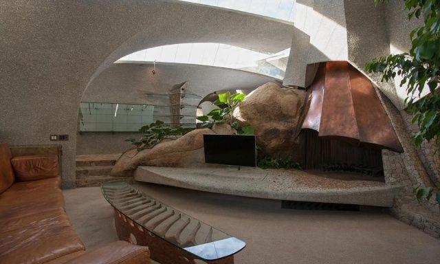 Innenarchitektur design haus  Innenarchitektur modern und futuristisch-Designer Haus ...