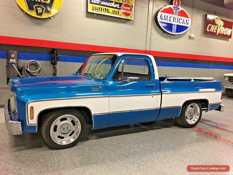 1978 Chevrolet C 10 Custom Deluxe Chevrolet C10 Forsale