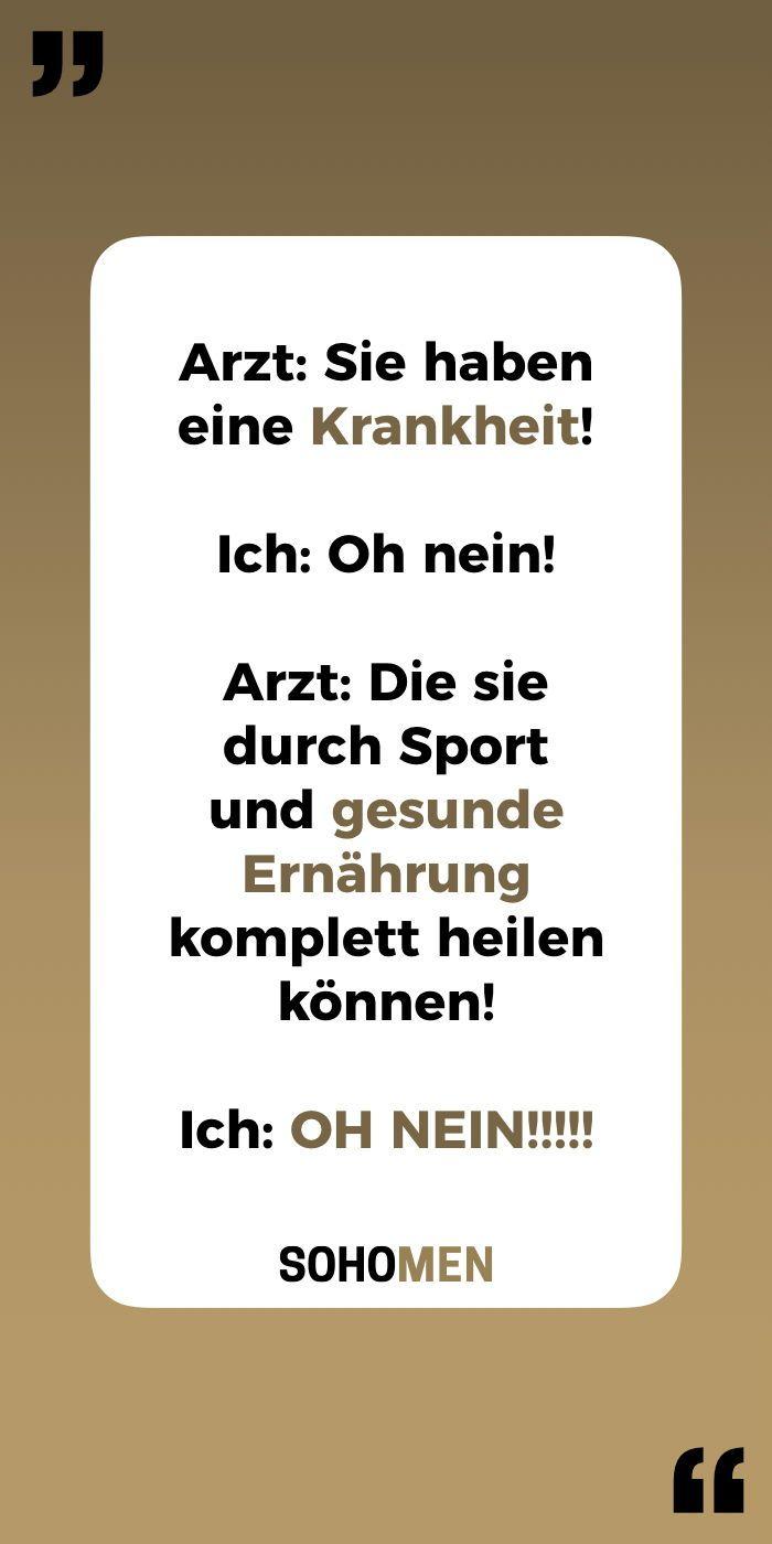 Lustige Sprüche #lustig #witzig #funny #sprüche #humor #zitate #quote #qotd #healthy #fitness     Ar...