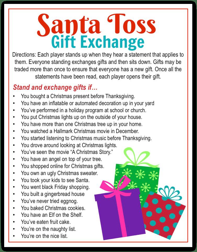 10 Fun Christmas Gift Exchange Games Fun Squared Christmas Gift Games Fun Christmas Games Christmas Gift Exchange Games