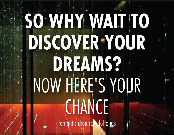 Romantic dreams lyrics