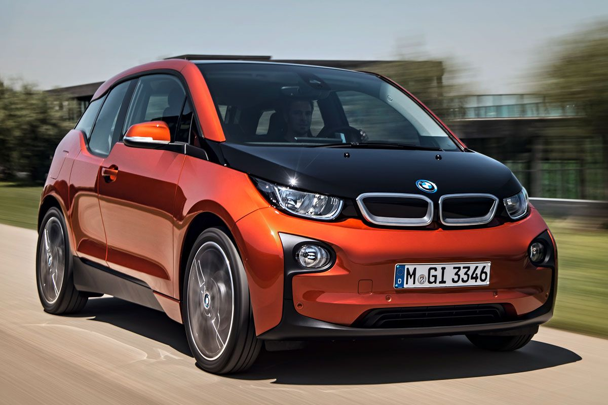 Car of the day BMW I3